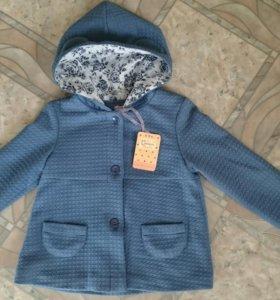 Новая курточка для девочки 116 рост