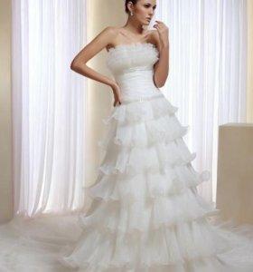 Свадебное платье, р.44