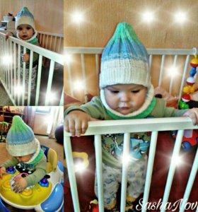 Вязаные шапки,снуды,шарфы