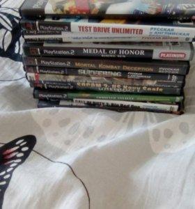 PlayStation2 Диски с играми
