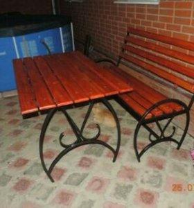 Лавочки и столы