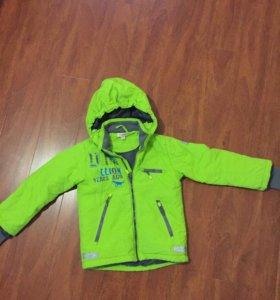 Куртка демисезонная на рост 116