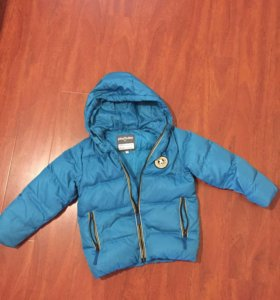 Куртка зимняя на пуху, рост 122