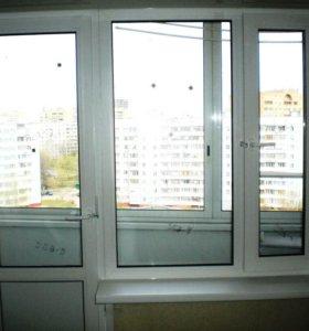 Пластиковые подоконники и откосы на окна
