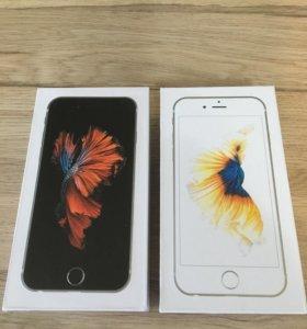 iPhone 6s 16/64 gb новый,гарантия.