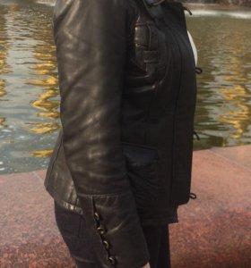 Черная Кожаная куртка в Зеленограде