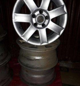Литые диски от Volvo r-15 7j*15