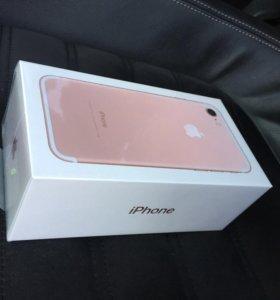 iPhone 7 32gb rose gold Новый!