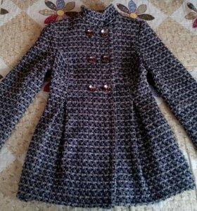 пальто укороченая модель