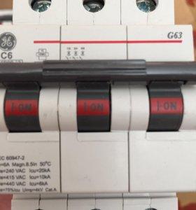 Модульный автоматический выключатель G63C06