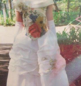 Детское красивое выпускное платье