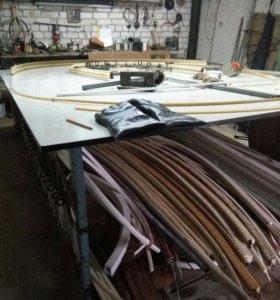 Оборудование для производства окон пвх: гибка .