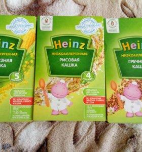 каши низкоаллергенные Heinz