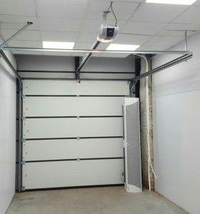 Секционные гаражные ворота Алютех 2500х2500