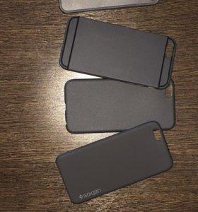 Силиконовые и пластиковые чехлы для iPhone