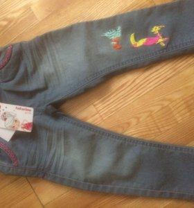 Новые джинсы на девочку