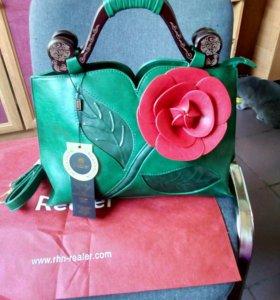 Новая сумка Realer....