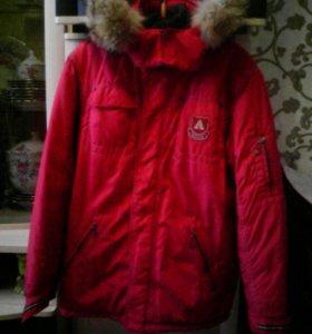 Куртка зимняя 12-13 лет для мальчика