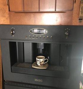 Встраиваемая кофемашина Smeg