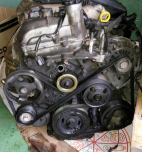 Двигатель по запчастям mazda demio