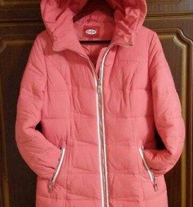 Курточка на зиму  -в отличном состоянии