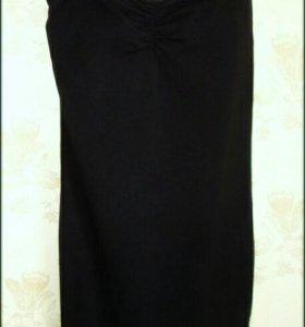 Новое черное платье M