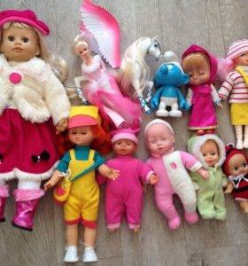 Куклы пупсы игрушки