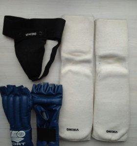 Перчатки и защита для рукопашного боя + кимано