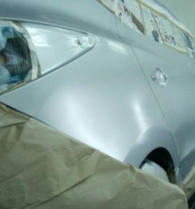 Полировка покраска авто и мото..