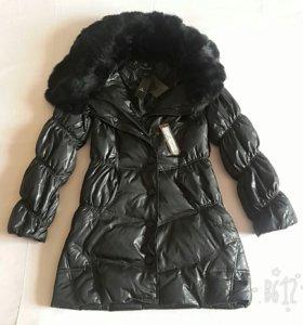 Новое демисезонное пуховое пальто Collins