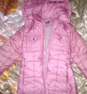 Курточка на девочку р.134