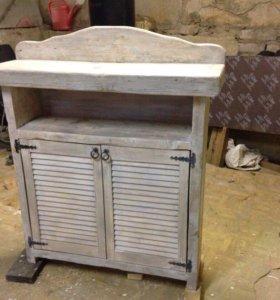 Изготовление мебели из дерева, ручная работа