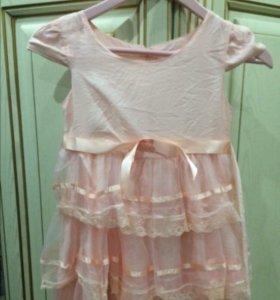 Платье для девочки на 122-128 рост