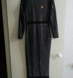 Новое Платье в стразах 42-46