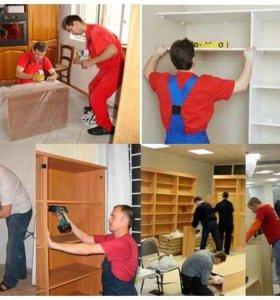 Соберу, разберу и отремонтирую мебель