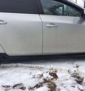 Накладки порогов Chevrolet Cruze