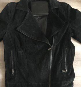 Замша натуральная куртка