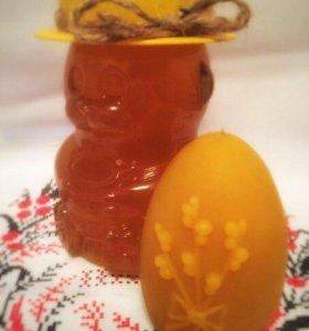 Восковая свеча/мед