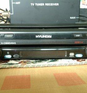 Магнитола ТВ, МР 3, DVD на авто