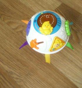 Интерактивный развивающий шар