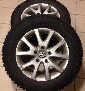 Продам комплект зимних колёс Nokian R17/235/65