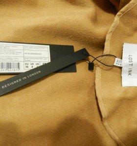 Пальто LOST INK драповое, новое, oversize