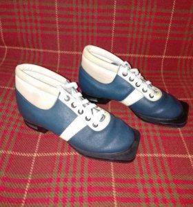 Лыжные ботинки 34р