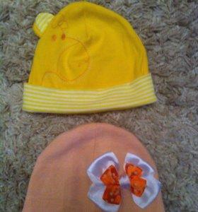 Милые шапочки для модницы