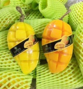 Фруктовое мыло из Таиланда манго