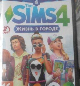 Диск Sims 4