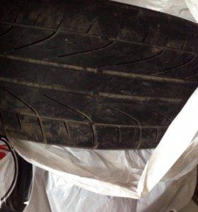 Летняя резина шины Dunlop r17 б/у комплект