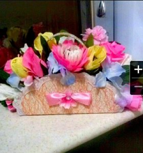 Сумочка с цветочками