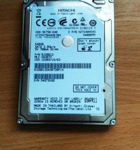 Жёсткий диск Hitachi HDD 640 Гб