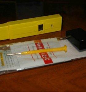 Электронный pH-метр для жидкости